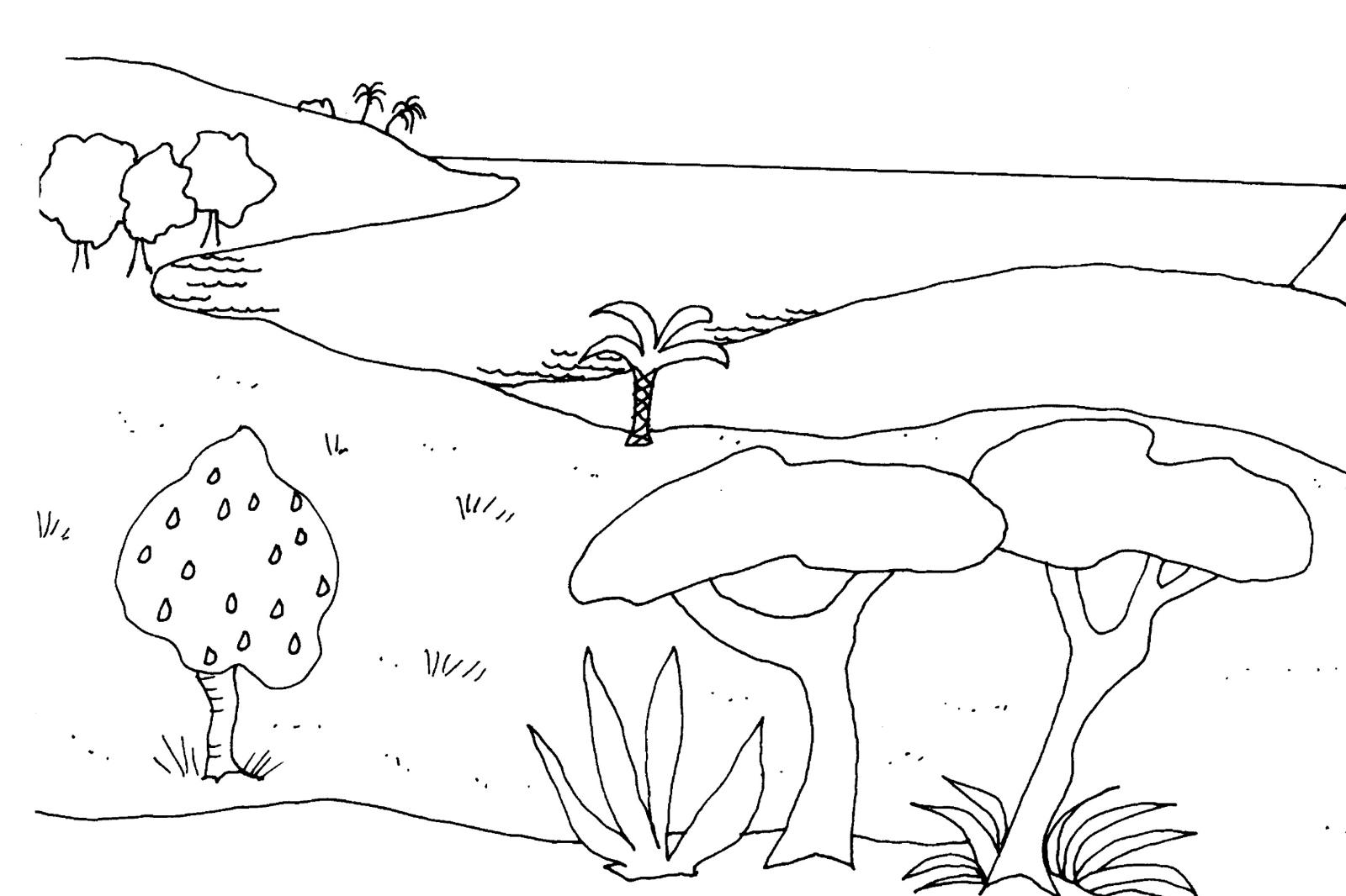 l eau du nil coloring pages - photo #45