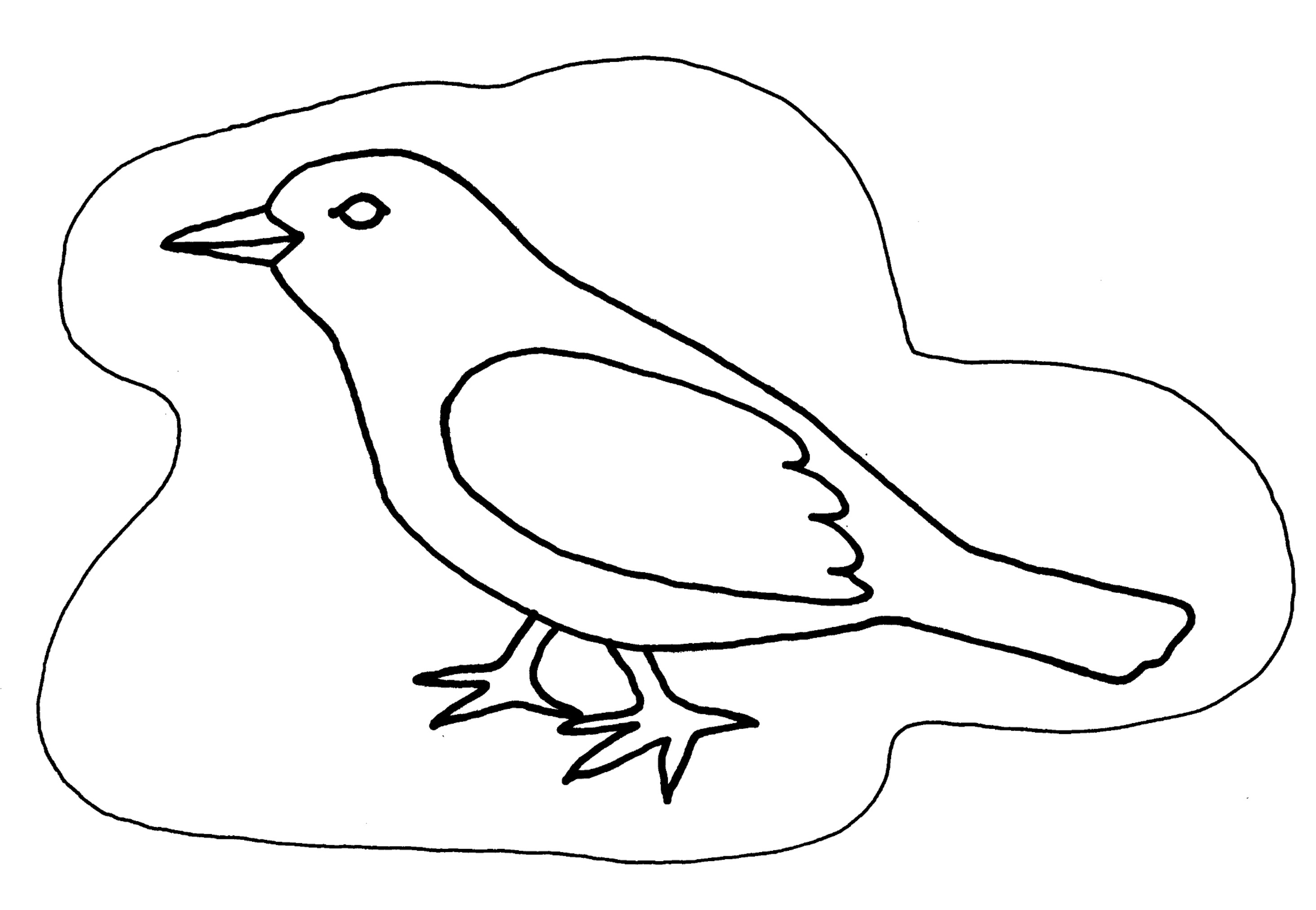 dessin de corbeau  dessin de corbe...