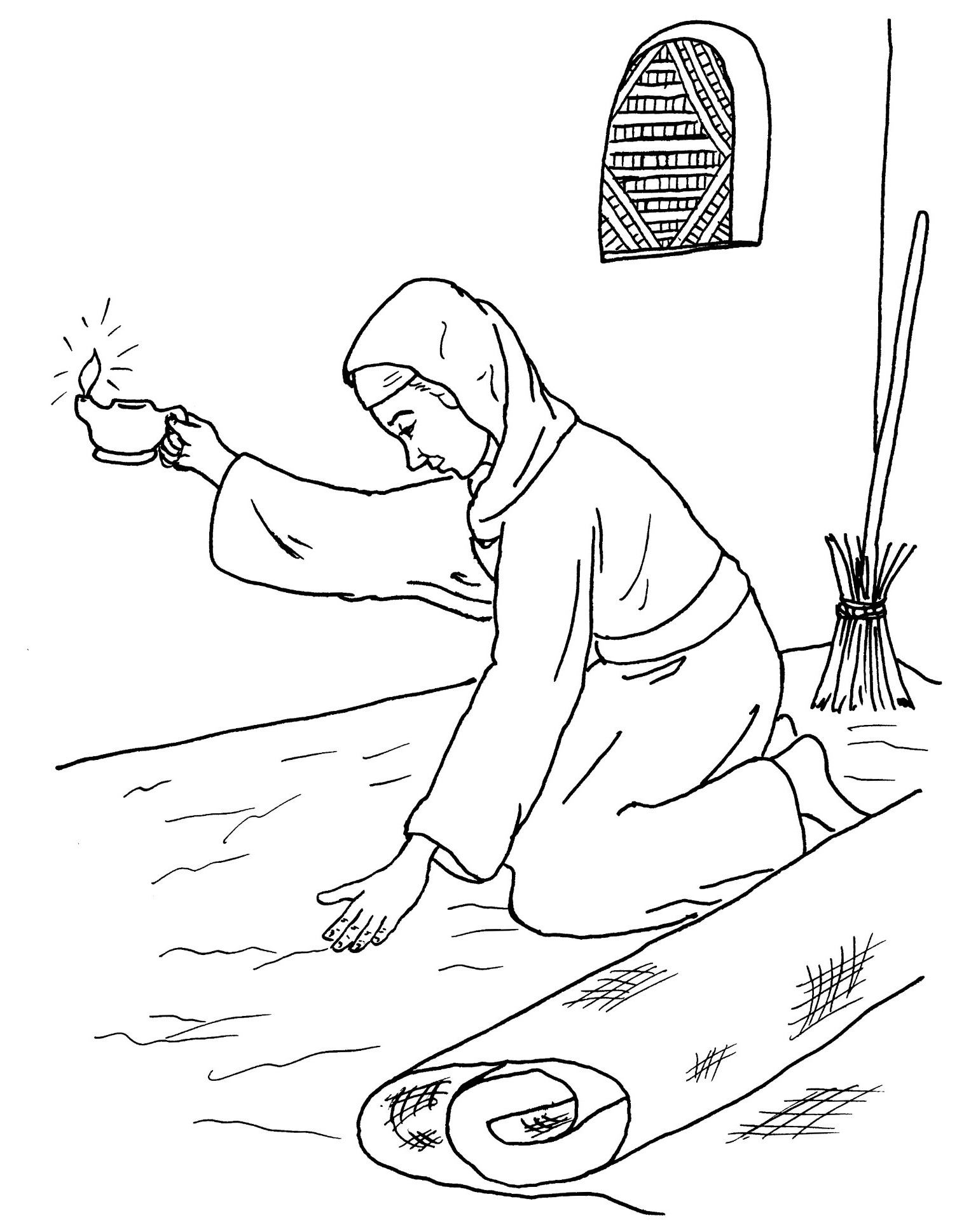 parables coloring pages - photo#19