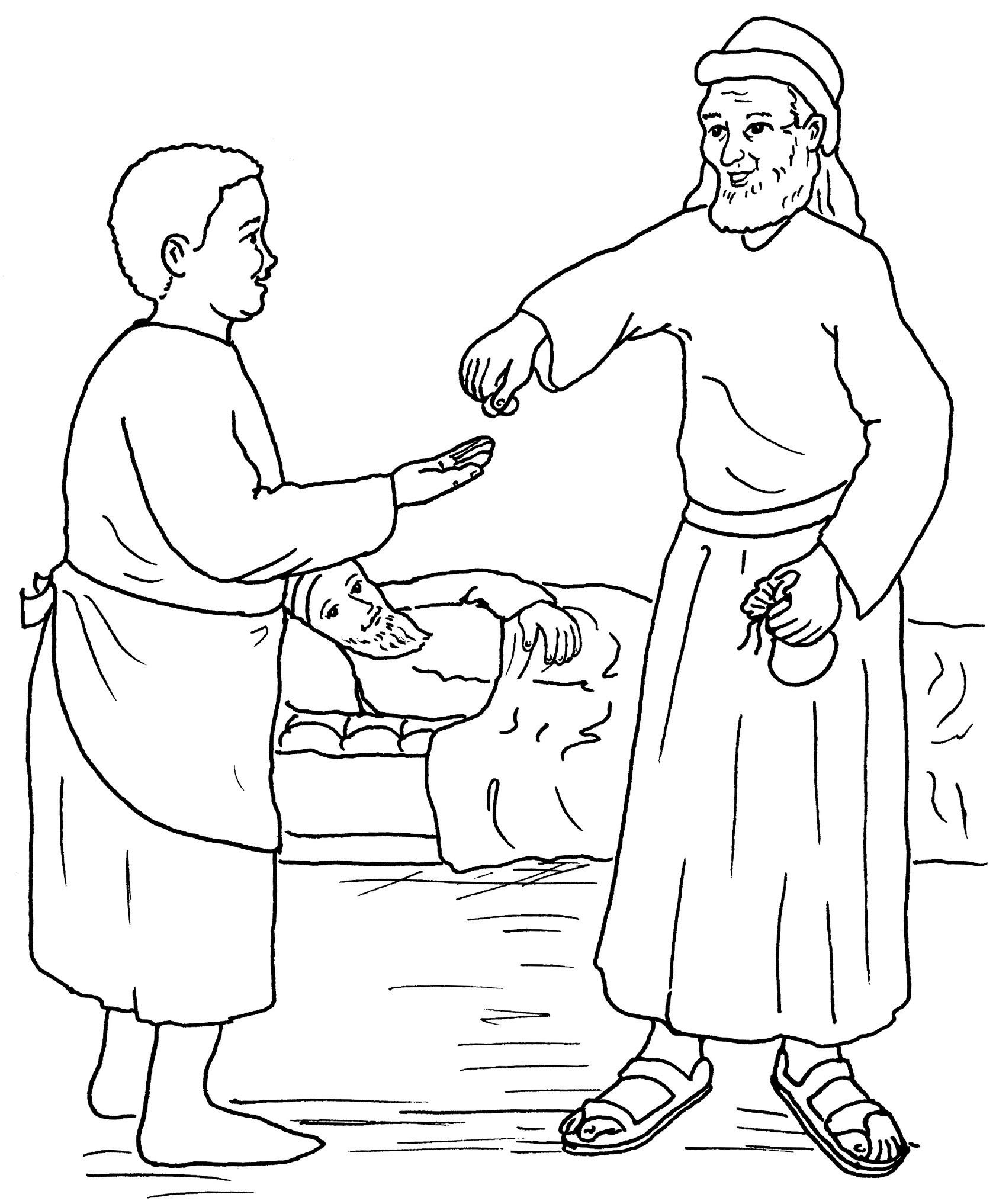 samaritan taken to an inn