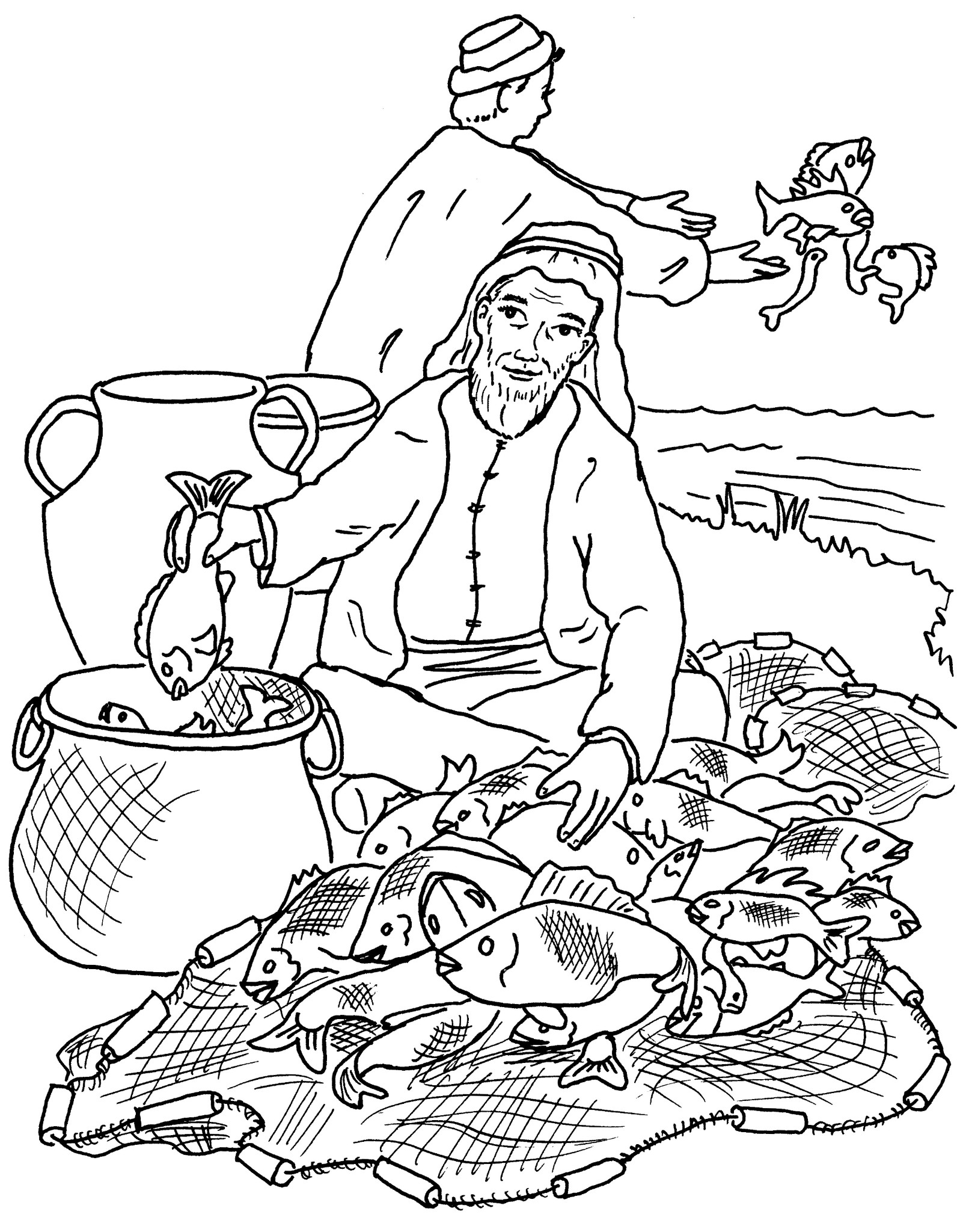 parables coloring pages - photo#30