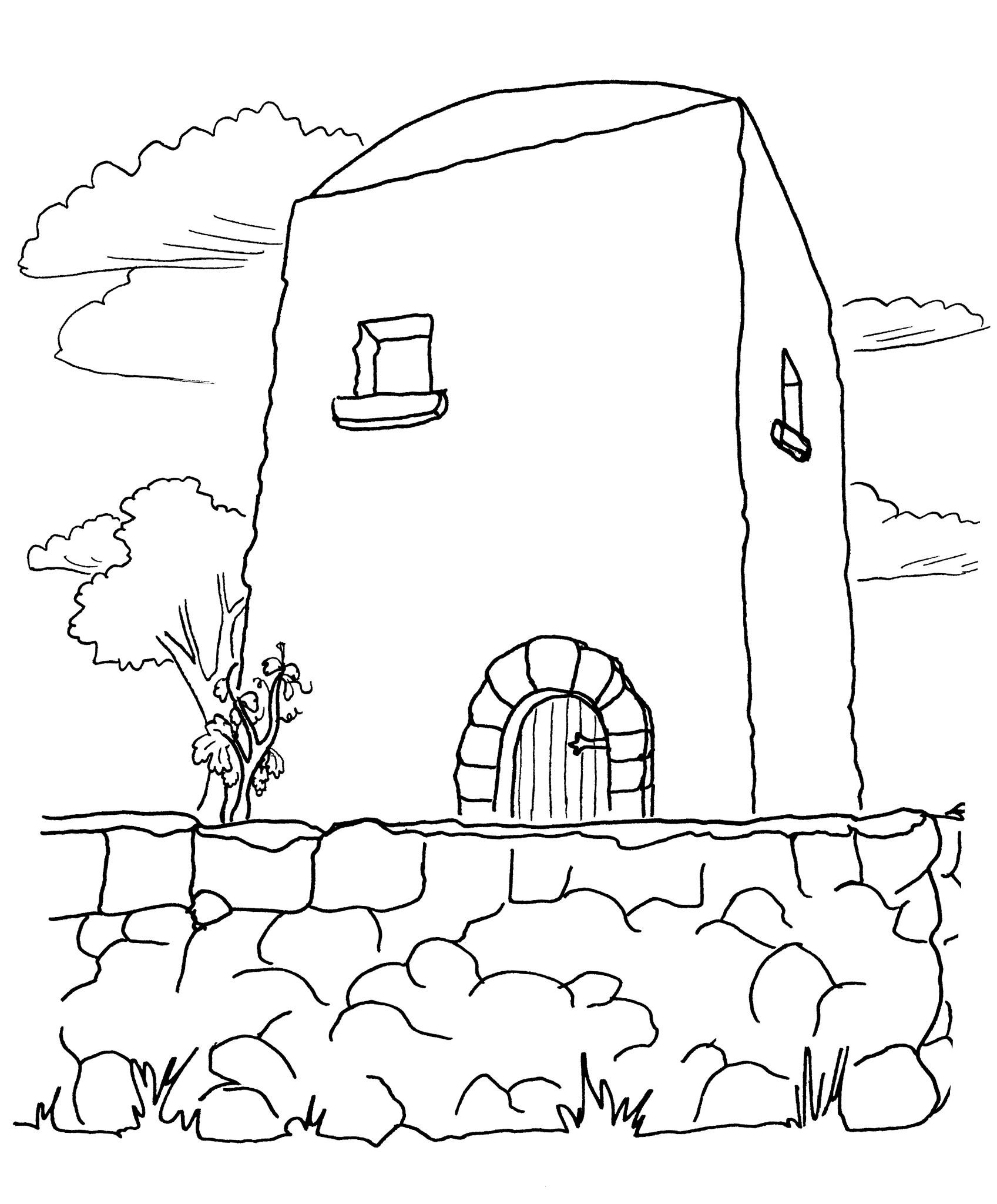 Un homme était propriétaire d'un domaine ; il planta une vigne, l'entoura d'une clôture, y creusa un pressoir et y bâtit une tour de garde.